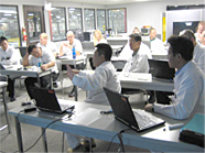 Overseas workshop to strength production structure